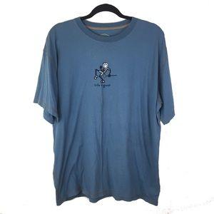 LIFE IS GOOD Men's Golf Tee Shirt 6